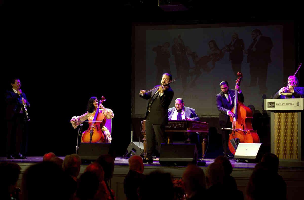 Slovak Romani musicians Gypsy Devils orchestra