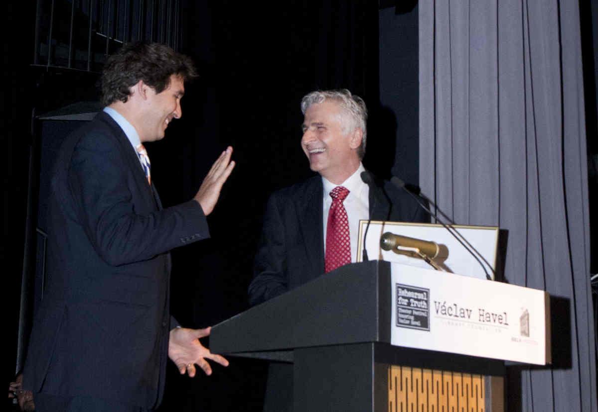 Ben Kallos (left), Joseph Balaz