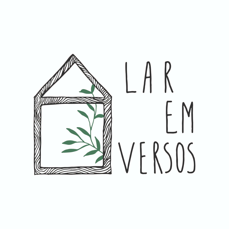 desenvolvimento de logo e identidade visual para a imobiliária Lar em versos.