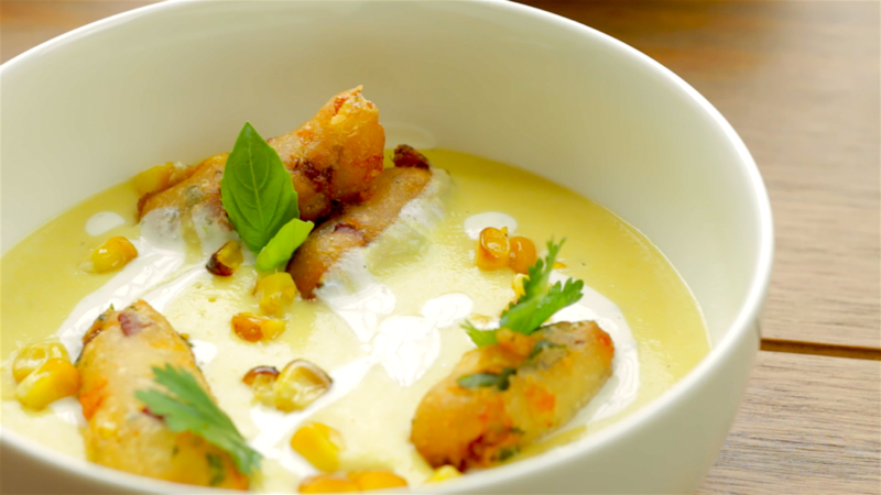 SWEETCORN SOUP -