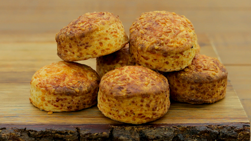 CHEESE SCONES -