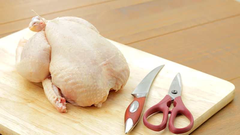 HOW TO TRUSS A CHICKEN -