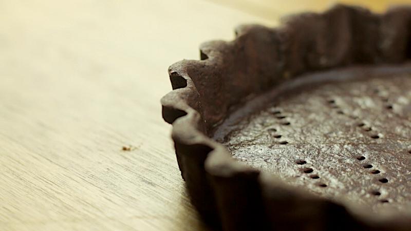 CHOCOLATE SHORTCRUST PASTRY -