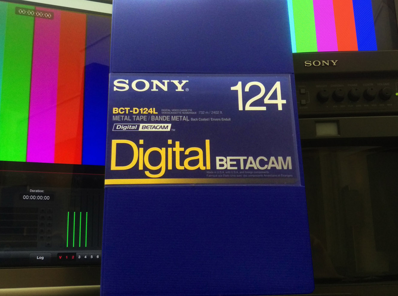 Broadcast-quality digitizing and capture from all Betacam formats