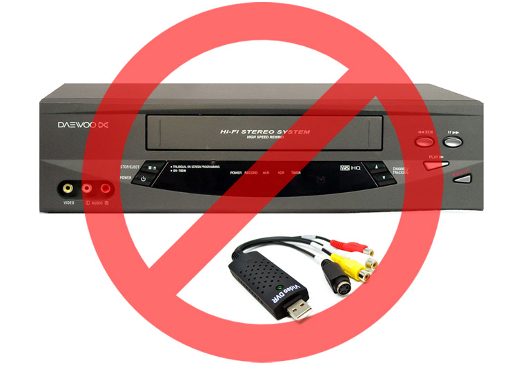 Cheap VCRs and low-end video capture devices…assuming the deck doesn't decide to eat your tape, you'll get a sub-standard capture of your treasured memories, and the excitement of seeing your digitized home movies could quickly turn to disappointment!
