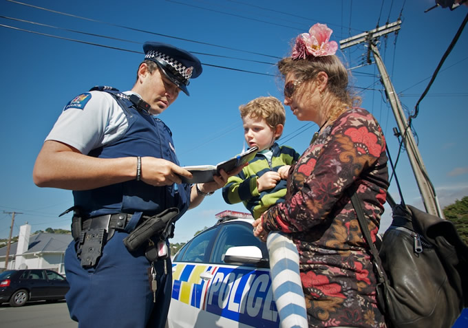 New Zealand Police works with the community to make New Zealanders be safe and feel safe. -