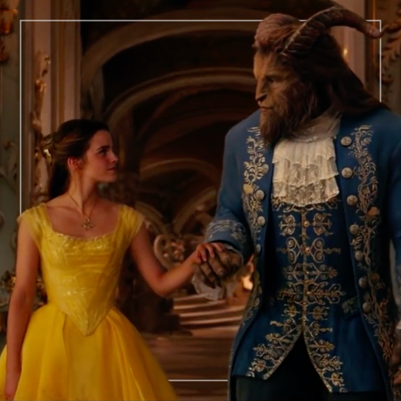 beauty and the beast  out of home+av