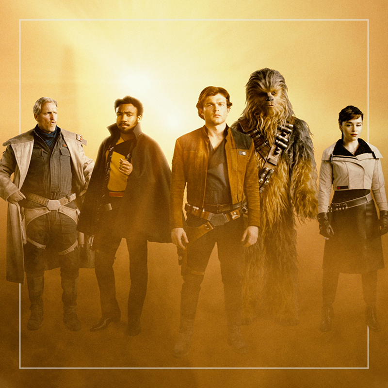SOLO: A STAR WARS STORY  out of home+av