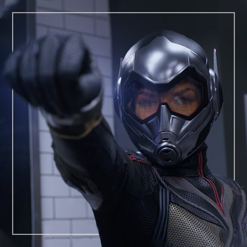 ANT-MAN AND THE WASP  OUT OF HOME+AV