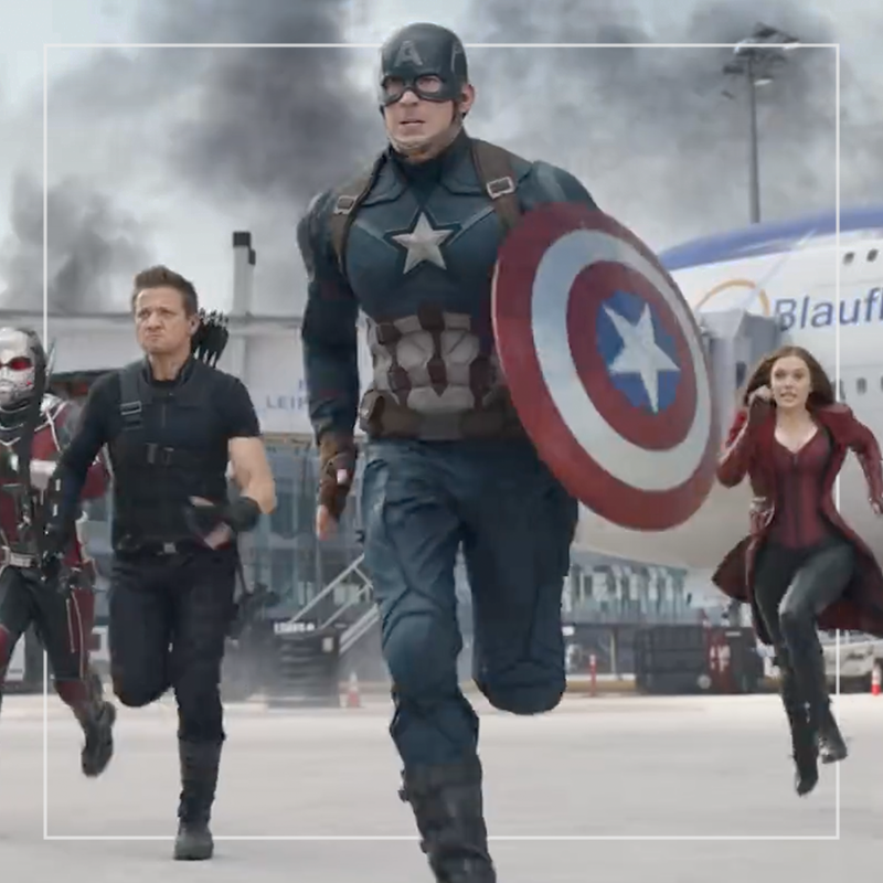 Captain america: civil war  out of home