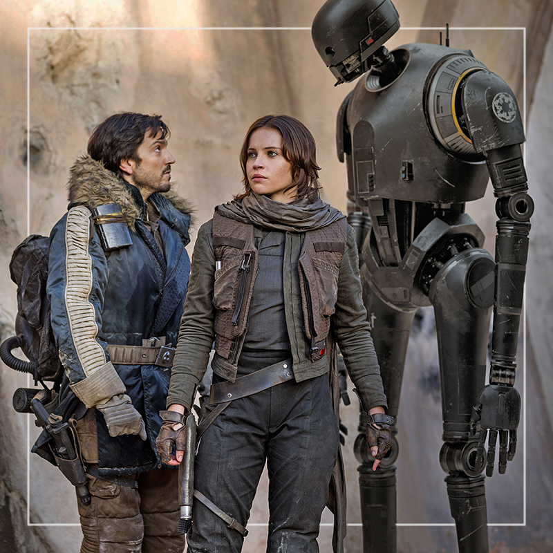 rogue one: A Star Wars Story  out of home
