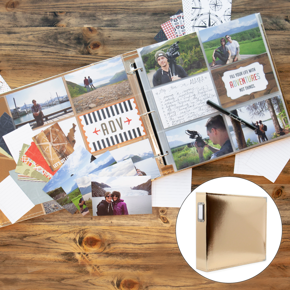 Vacation & Travel Kit with Gold Album