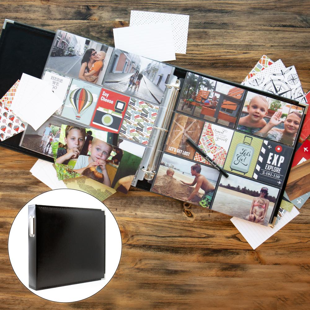 Vacation & Travel Kit with Black Album