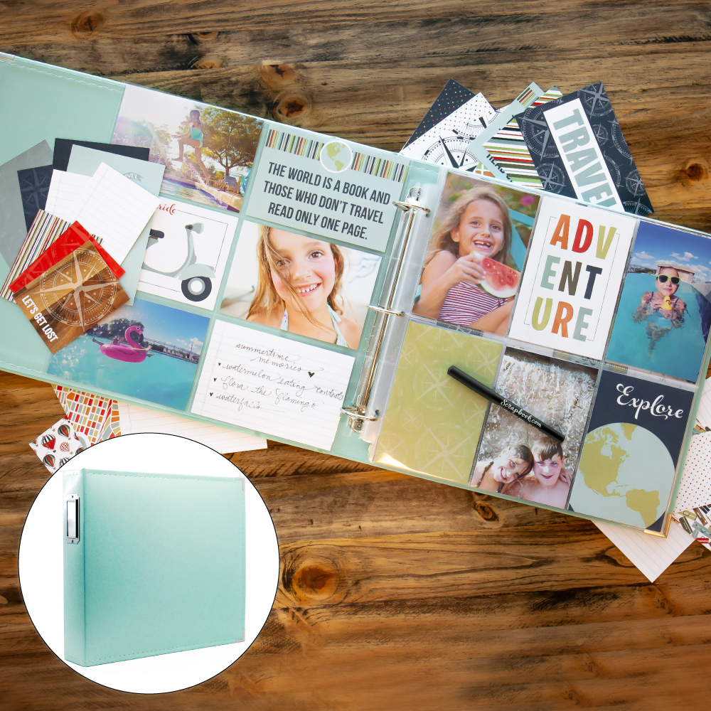 Vacation & Travel Kit with Mint Album