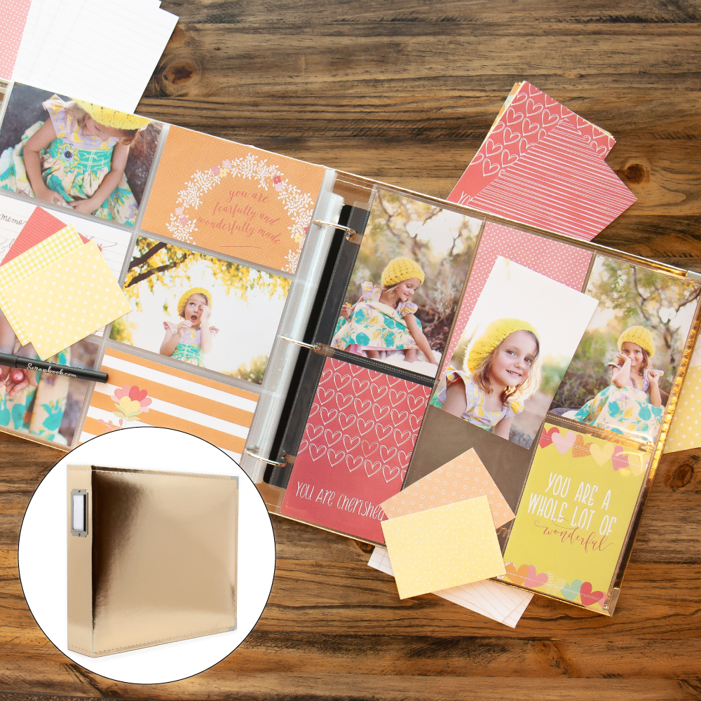 Baby Girl Kit with Gold Album