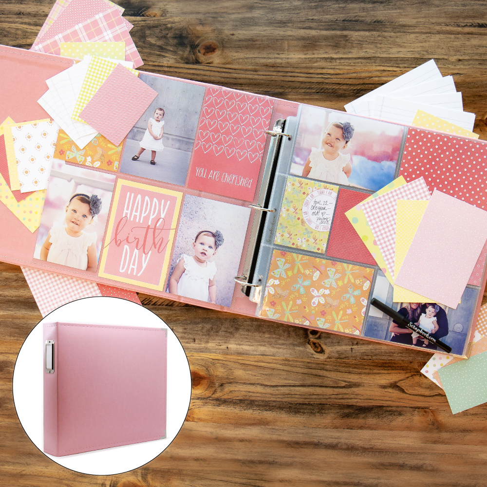Baby Girl Kit with Pink Album