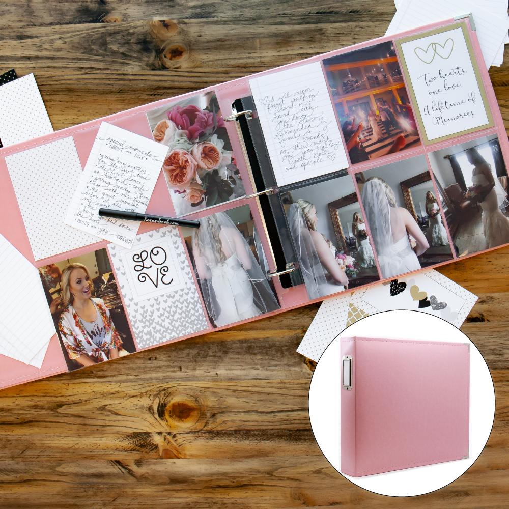 Wedding Kit with Pink Album