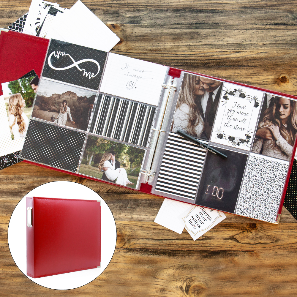 Wedding Kit with Red Album