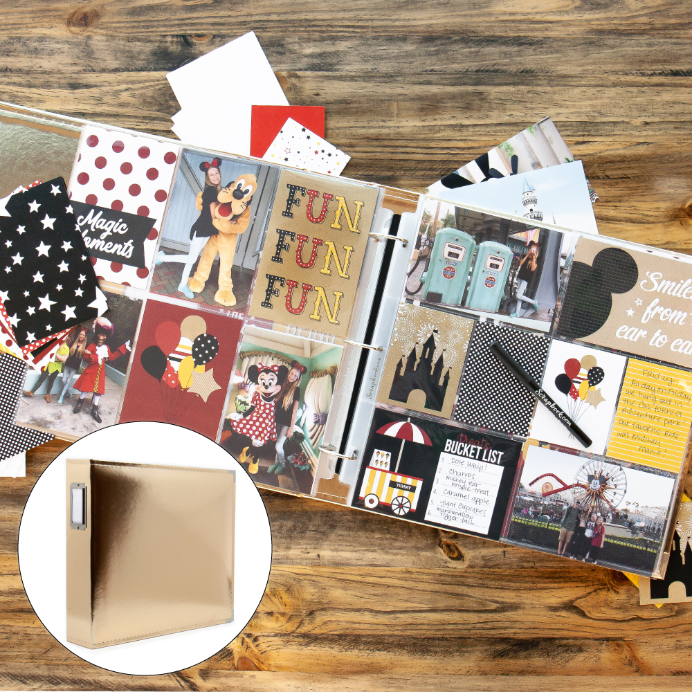 Magical Theme Park Kit with Gold Album