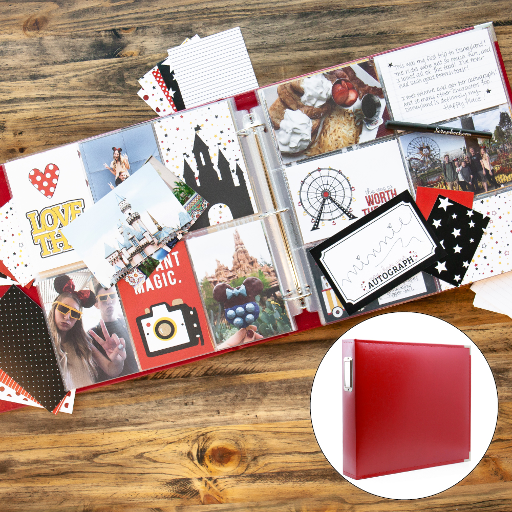 Magical Theme Park Kit with Red Album