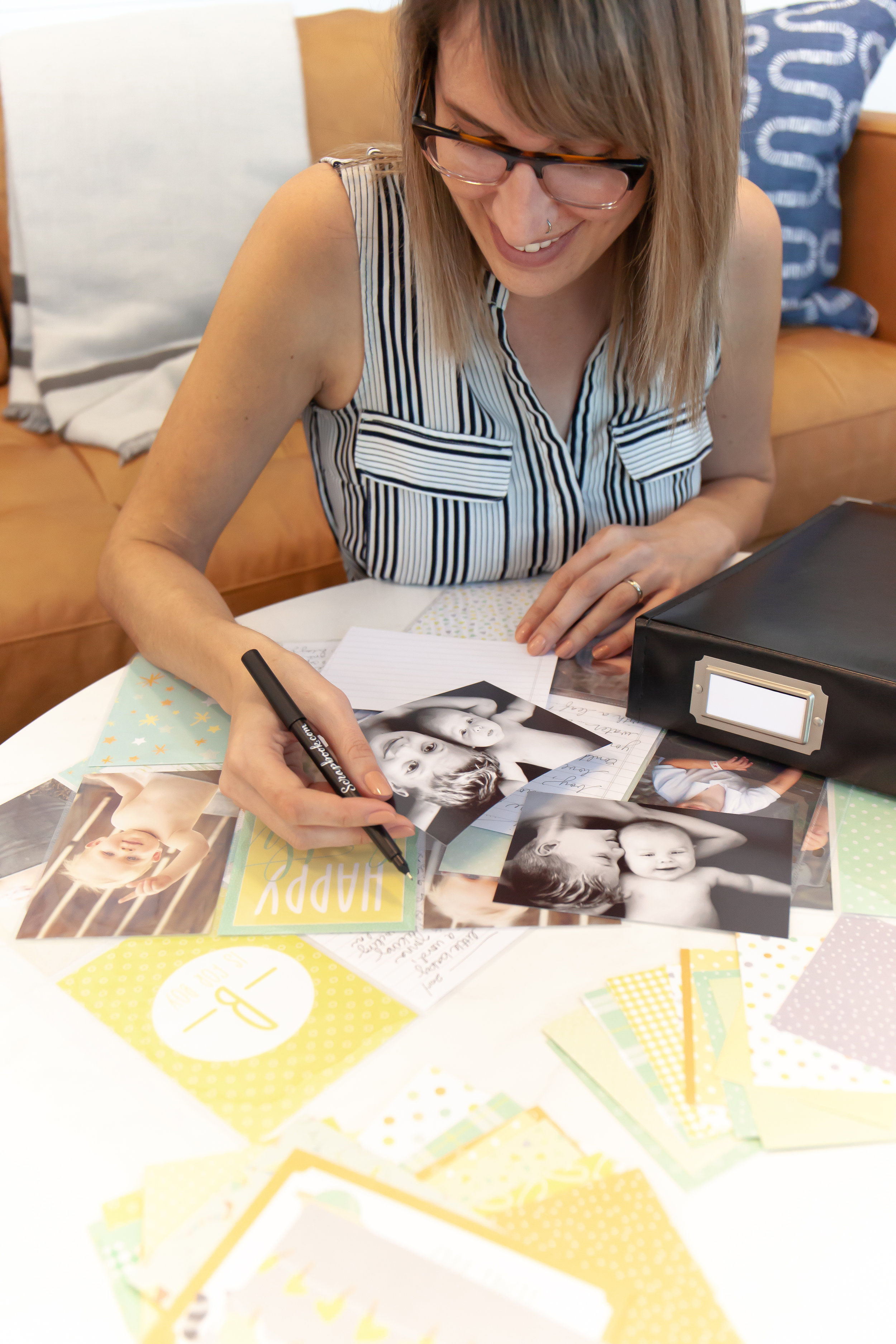How to Create a Simple and Adorable Baby Scrapbook