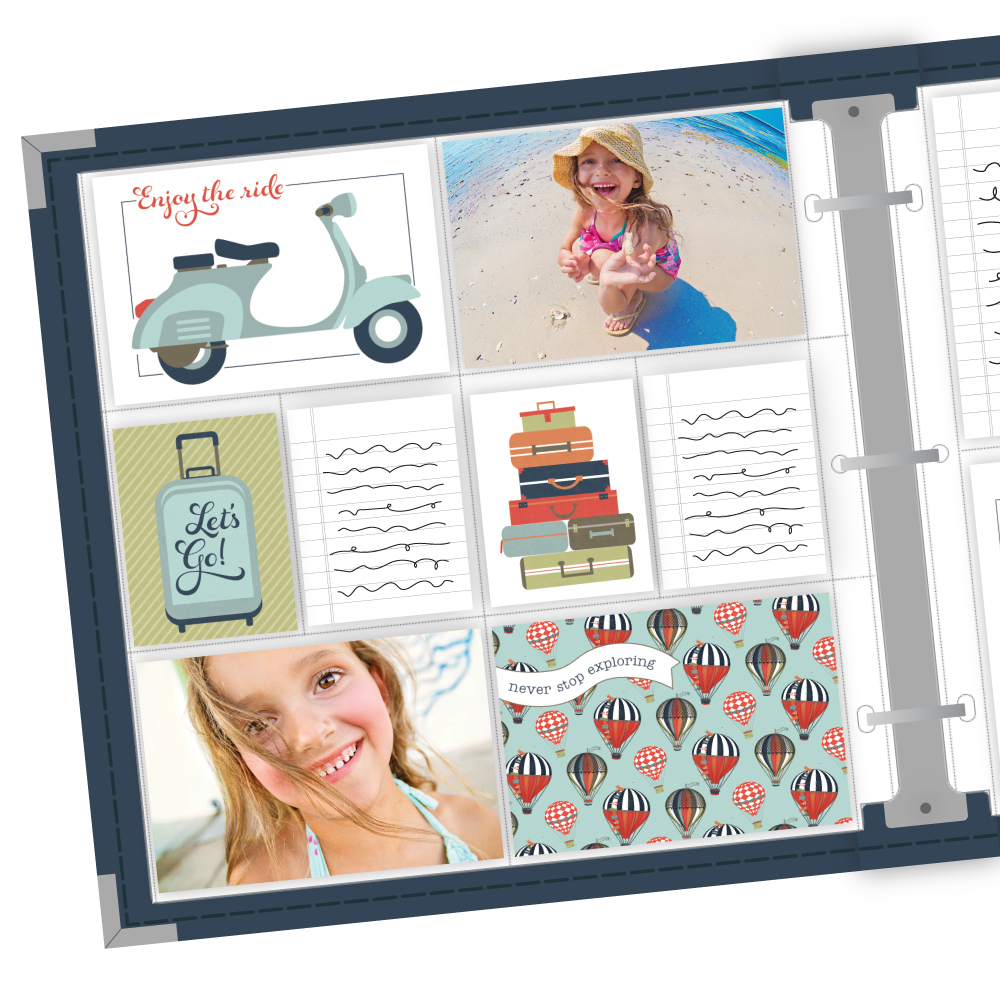 Travel & Vacation Easy Albums™ Kit -