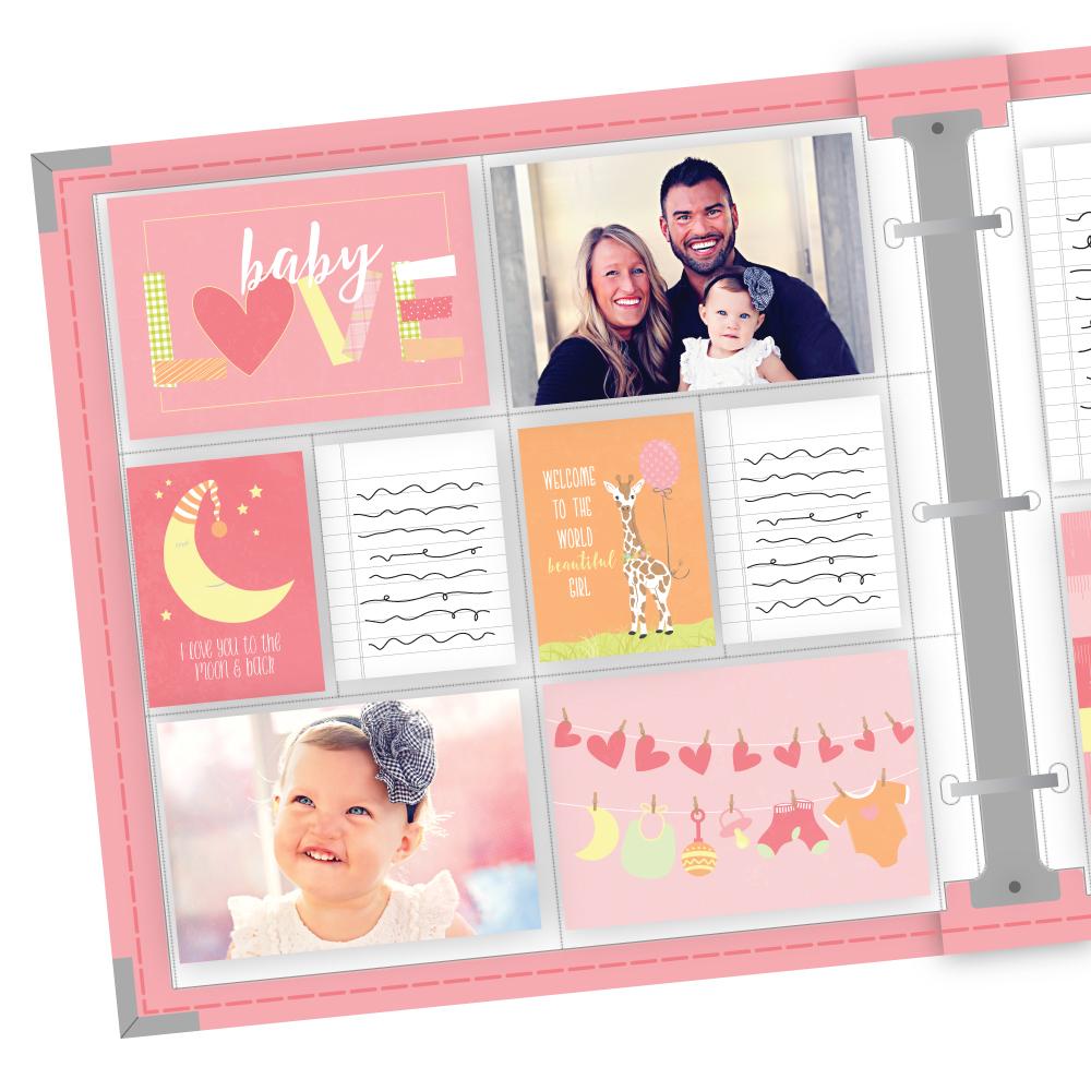 Baby Girl Easy Albums™ Kit -