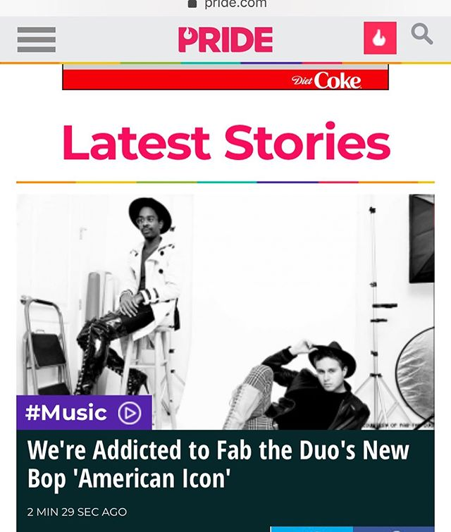 FABBITS!!!!! Can't wait until midnight for our single??! We got an EXCLUSIVE PREMIERE for YOU courtesy of @pride_site! 🎉. Link in bio!