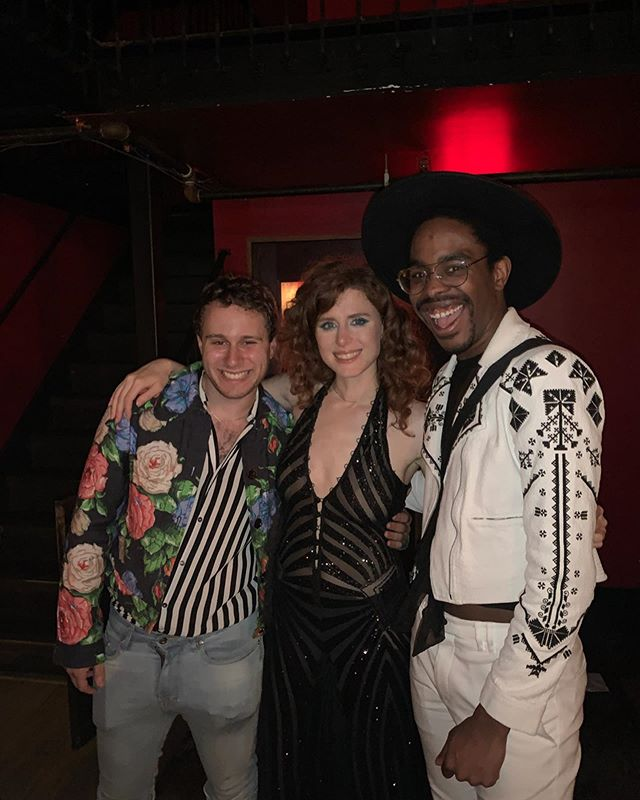 Hangin' with our girl @kiesza! You're the best! 💛 (p.s. thx @er_pulgar for the invite!) 📷: @ljubalicious