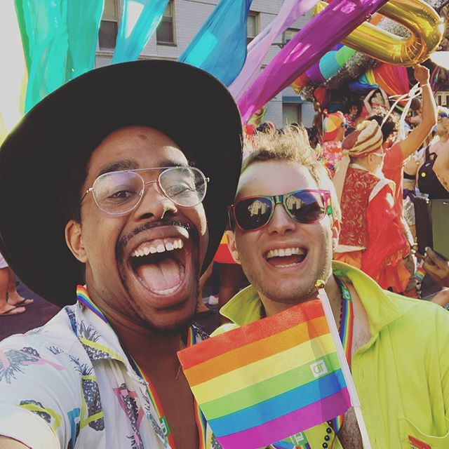 Don't you dare forget that Pride is ALL YEAR long with a Parade once a year! Be You! Be Proud! All Day, Every Day cuz that's the Fab way! 😂 HAPPY PRIDE!🌈🎉