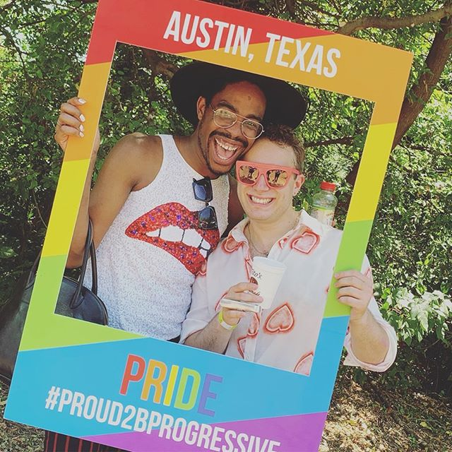 3 days. 2 performances. 1 epic time. Thanks @austinpride for having us and to everyone who came out in the 106 degree heat for giving us not only our first Pride show, but our first encore as well! This was truly a dream come true. We love you all so much! Hope to be back next year!