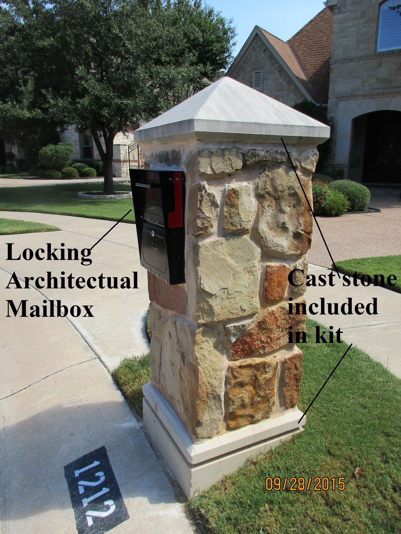 Mailboxes Brick Stone Master