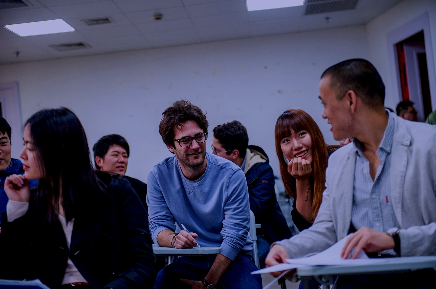 20 nationalities represented in the faculty. -