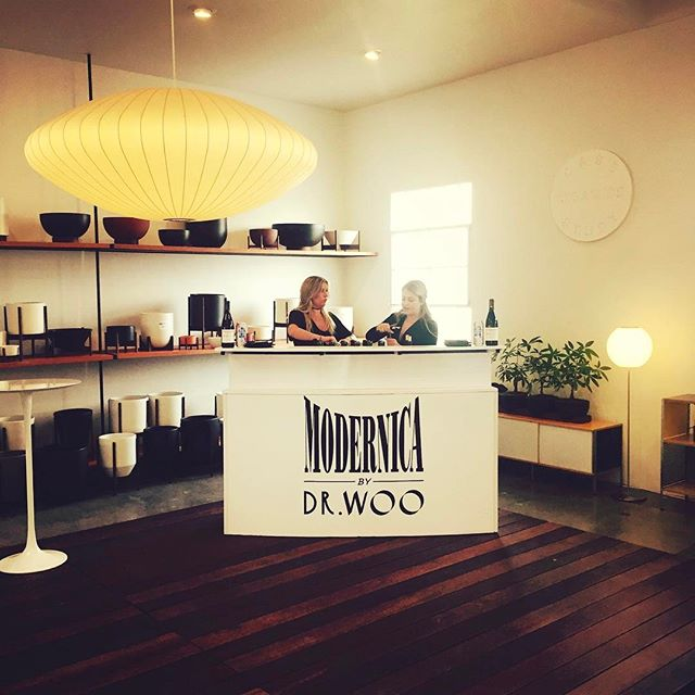 #TBT Modernica x Dr. Woo collab @modernica @_dr_woo_ #modernica #drwoo #servemobilebars #barservice #losangeles