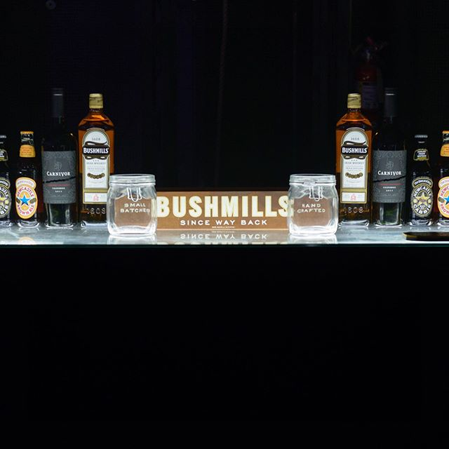 Bushmills Bar for  Ms Mr event - Ford Concert Series  #msmr #pitchfork #bushmills