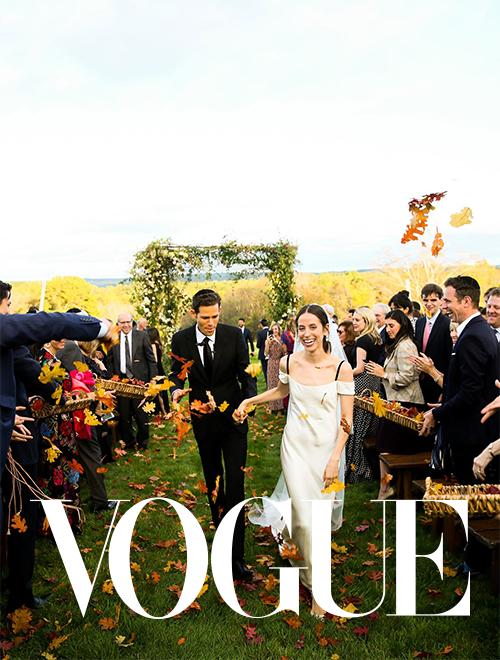 VOGUE FARM WEDDING LISA VORCE