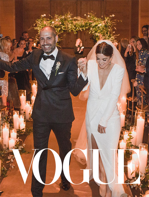 VOGUE LISA VORCE ASPEN WEDDING