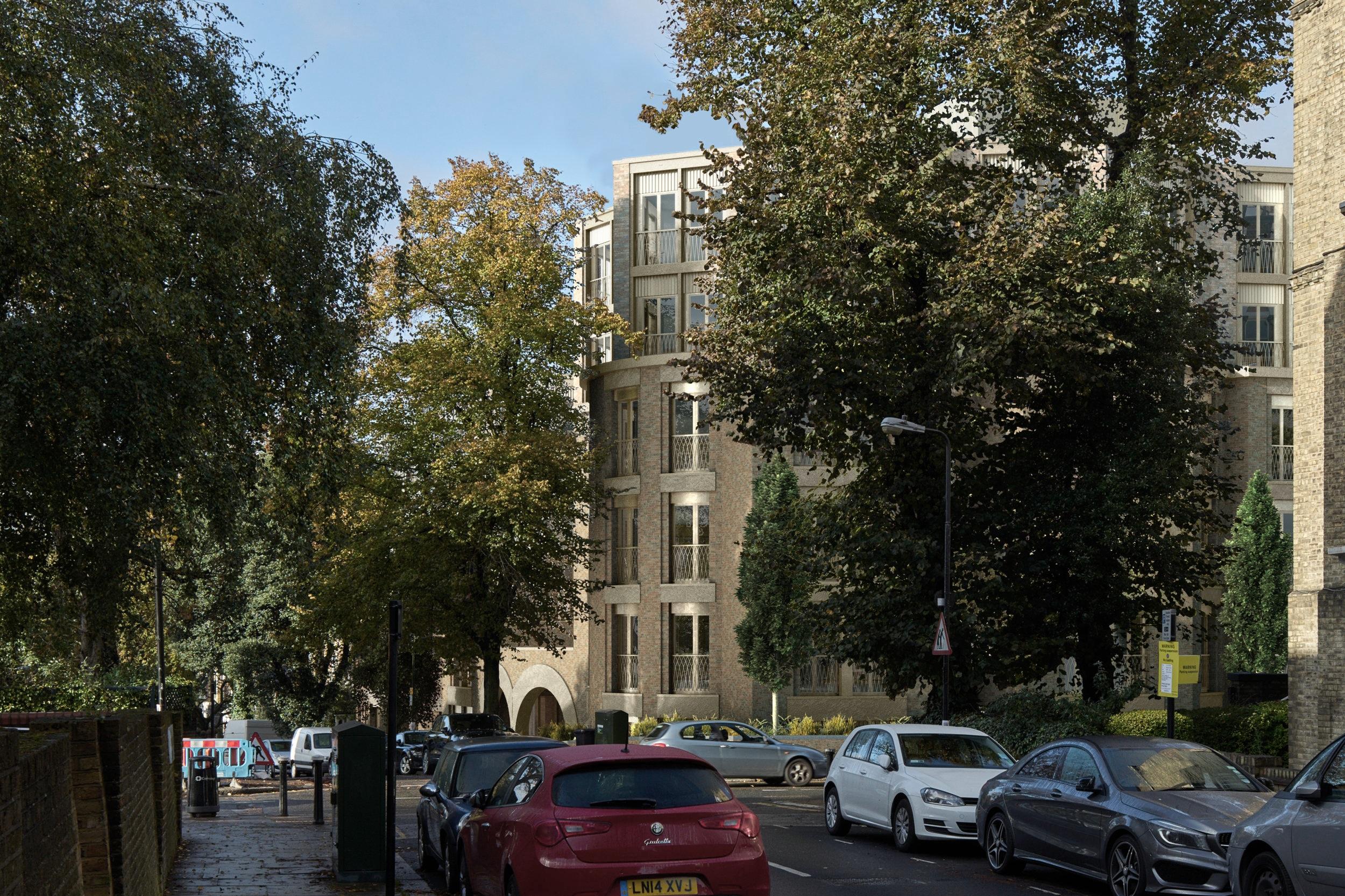 Arthur west house Hampstead -