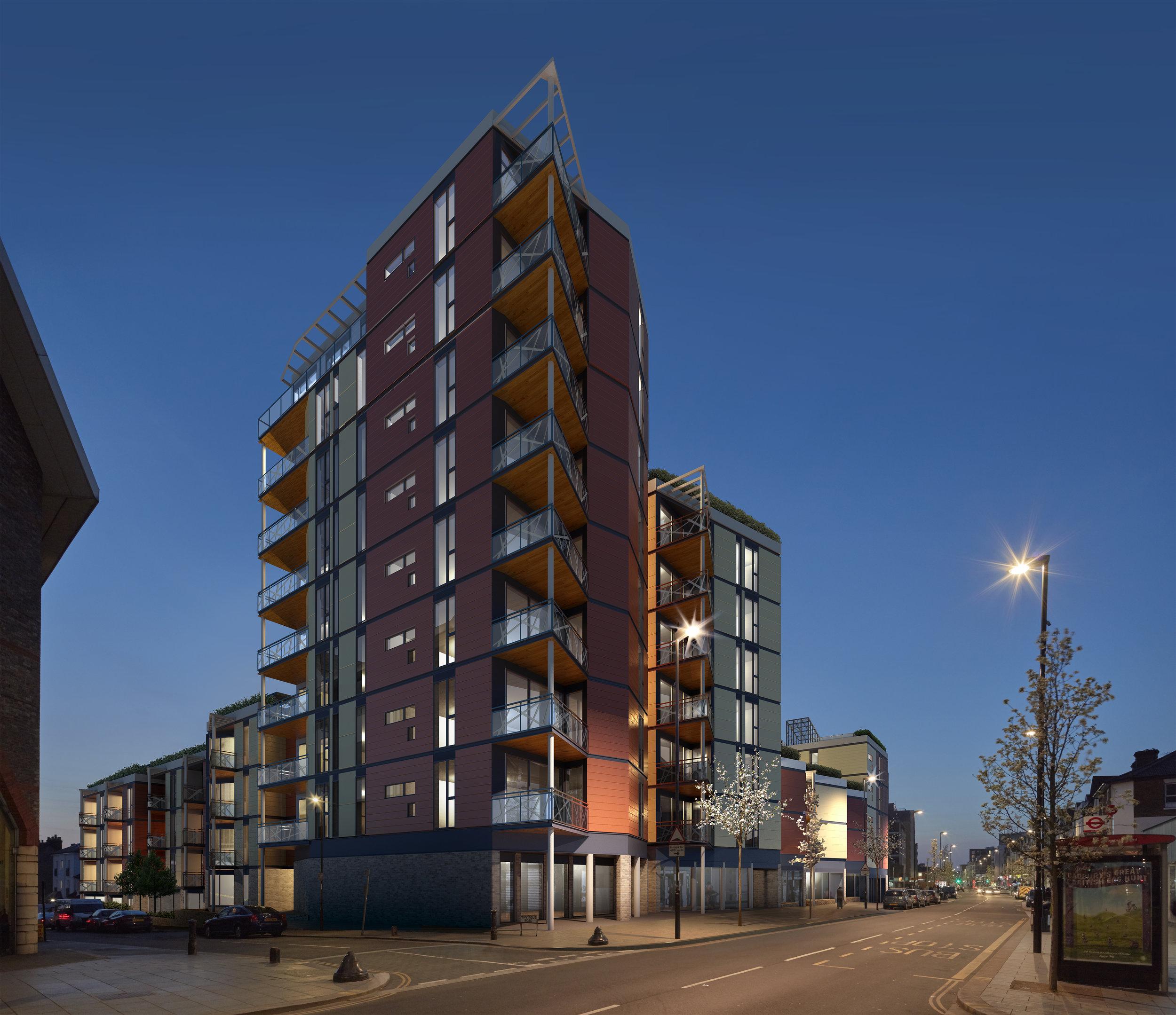 london road croydon -