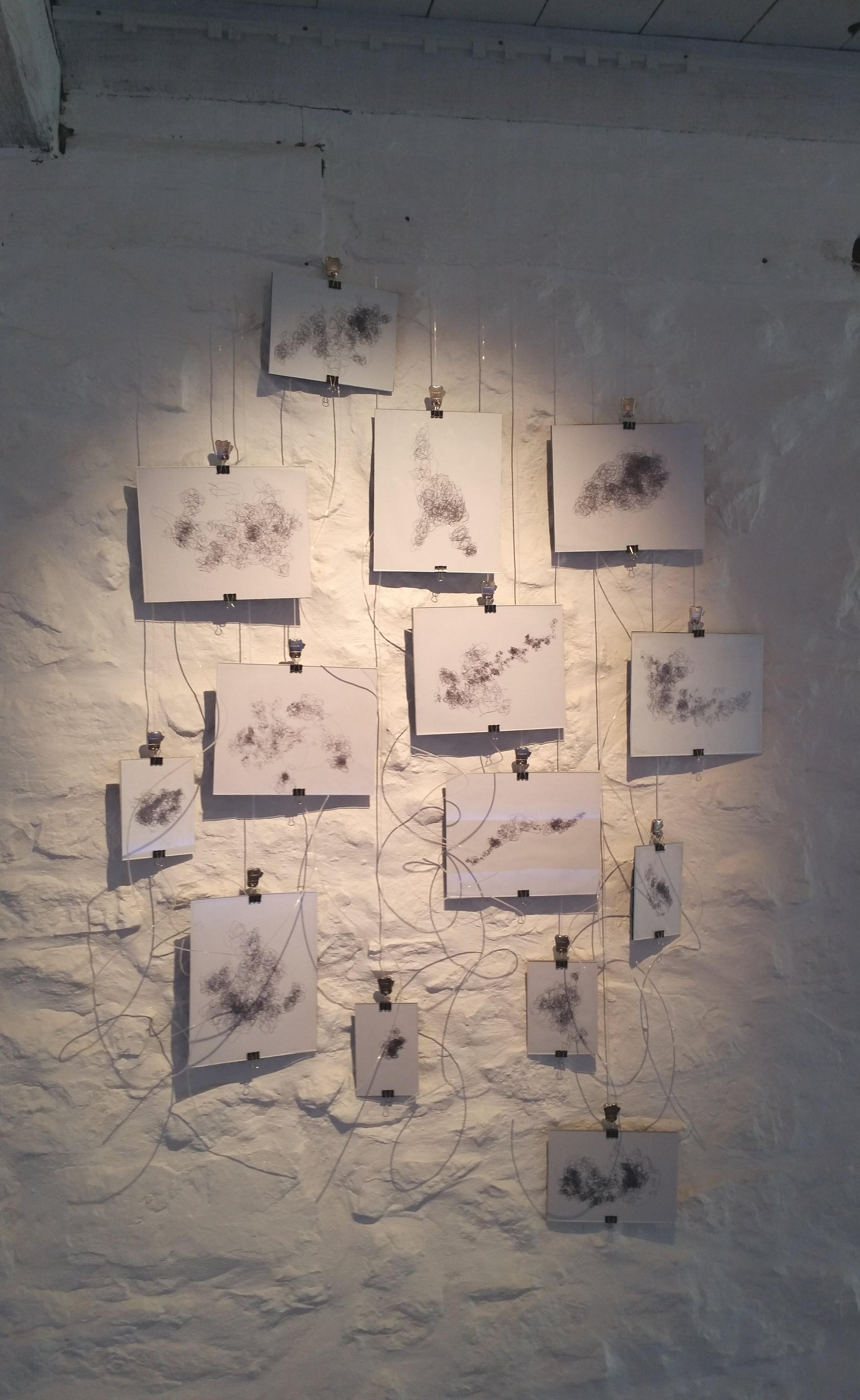 Liminal Drawings, Gemma Costin 2018