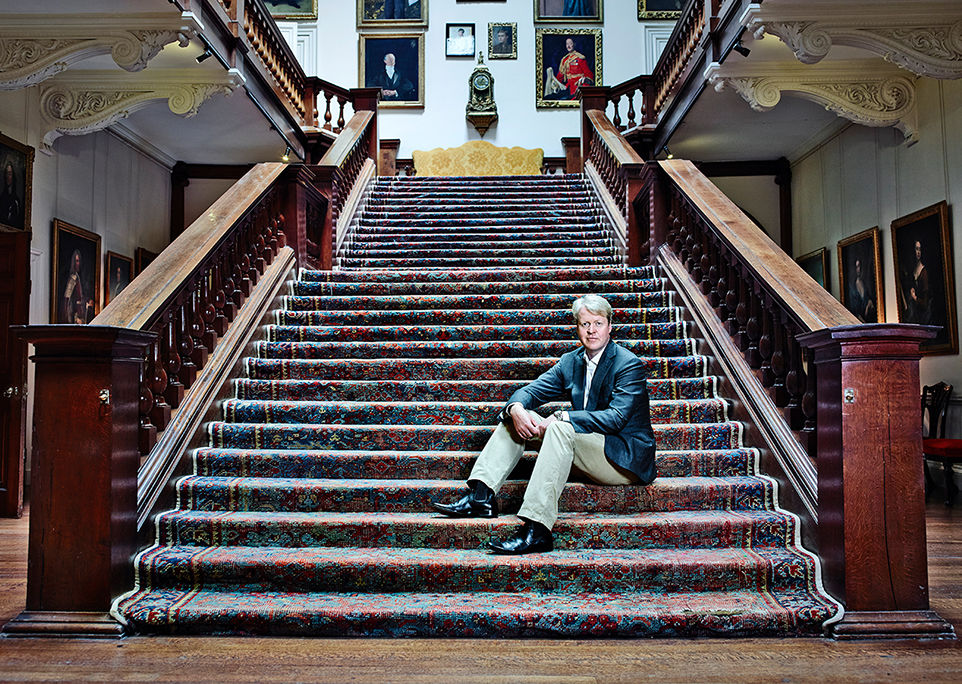 The Spencer Legacy - Charles Spencer's Family Seat is Althorp in Northamptonshire, and his family is the nineteenth generation to live in the five-hundred year old house.