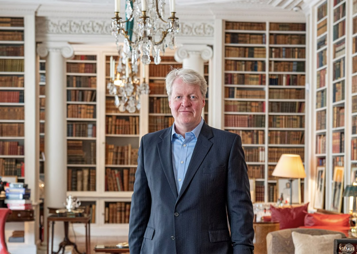 """Daily Telegraph: Great Estates - The Spencers have been in public life since the 16th century, when Sir John Spencer was knighted by Henry VIII. Lord Spencer, the 19th generation of his family at Althorp, considers his position. """"When I took over, I walked through the saloon, which is hung with family portraits going back 500 years. It was like walking across the stage with an audience. I thought, 'My goodness, it's my turn to do something with the place.'"""""""