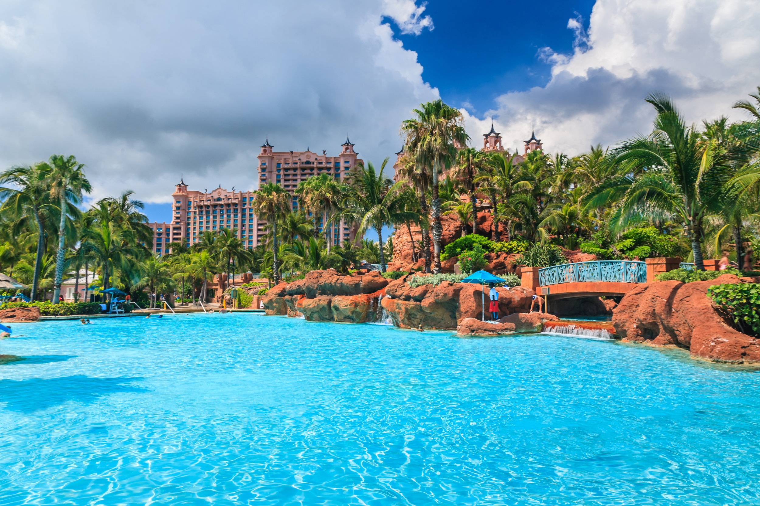 World famous Atlantis Resort, Nassau, Bahamas