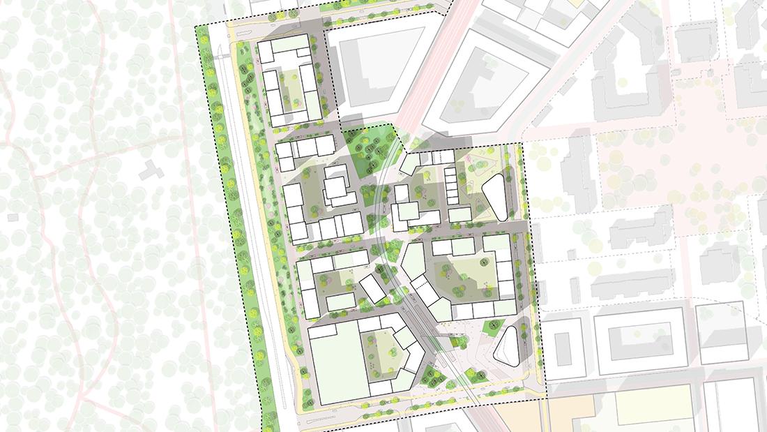 Centrala Ulleråker illustrationsplan