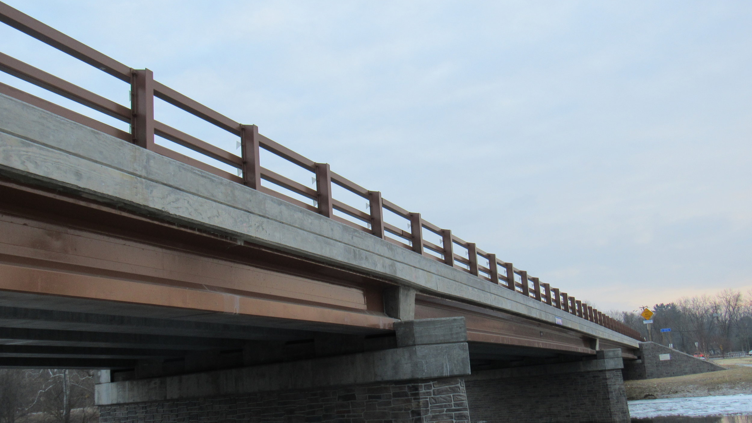 Bridge Railing - QBF has the ability to fabricate state standard railings, as well as, all of your custom steel railing needs.