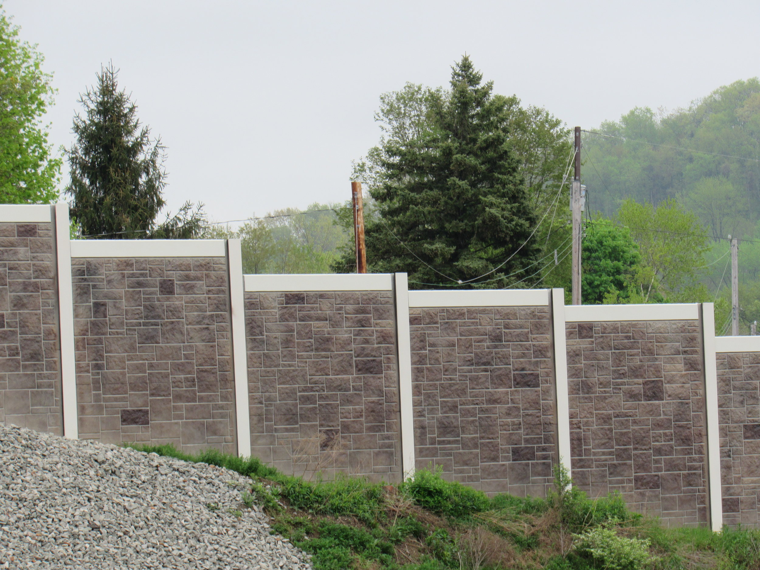 sound walls & rock fences - No wall is too big or too small…