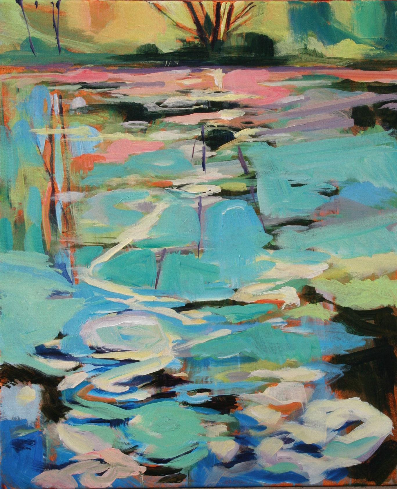 June pond  •