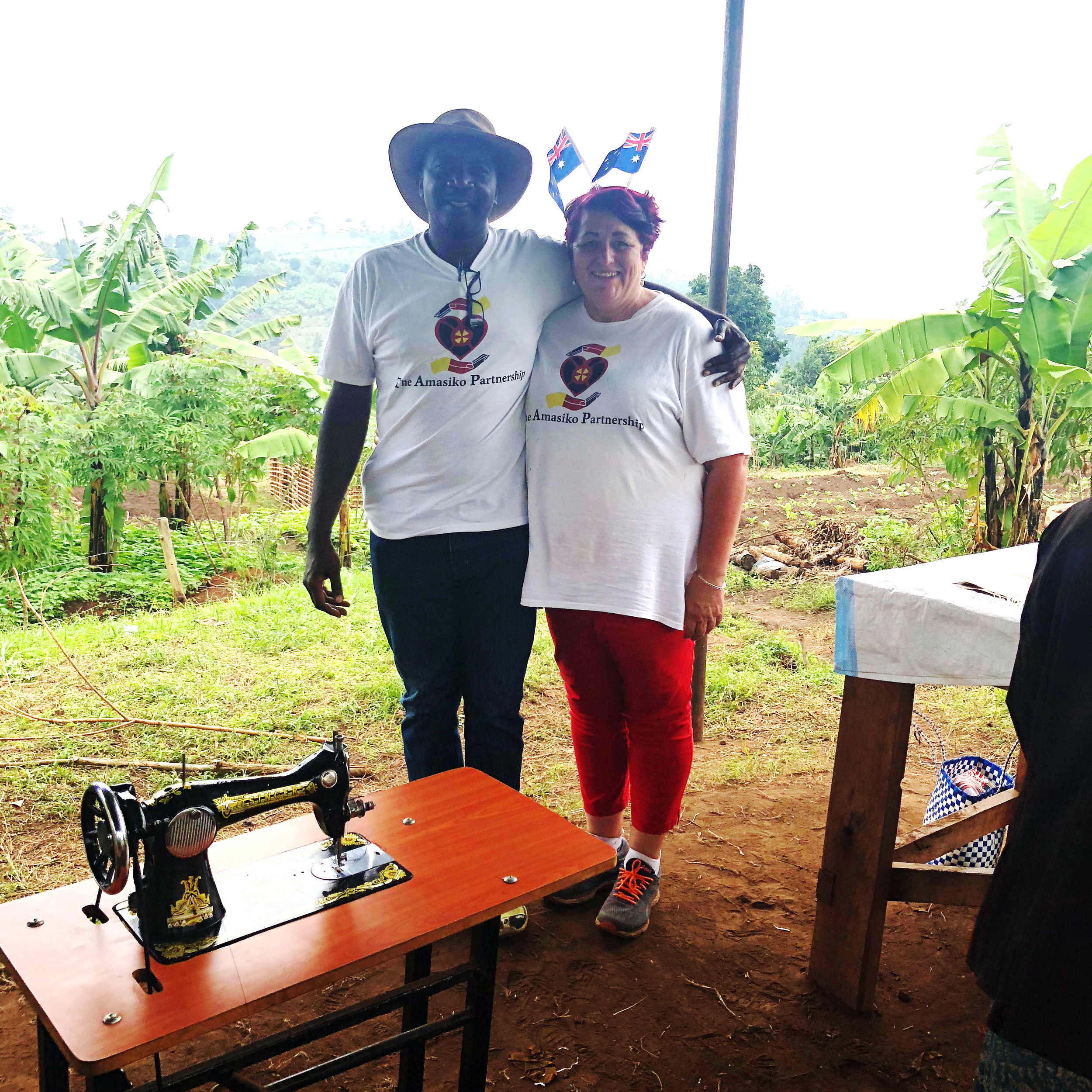 Our Founders. - The Amasiko Partnership was established in November 2017 Pam Wood is  our Australian FounderWilson Nzigye is our Ugandan Founder