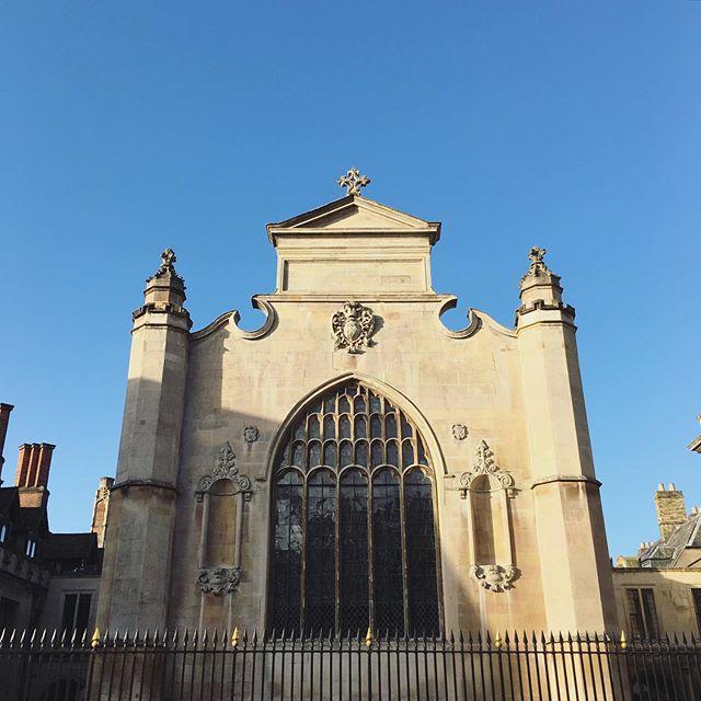 blue sky thinking! #peterhouse #bestmcrincambridge #peterhousemcr #cambridge #universityofcambridge