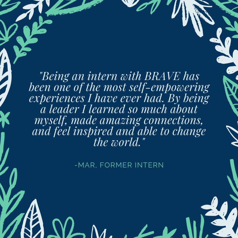 I have been honored to work with the BRAVE program since it began. Meaghan Davis has done an incredible job organizing and inspiring students. I have been consistently impressed by their passion, poise, and professio (2).png